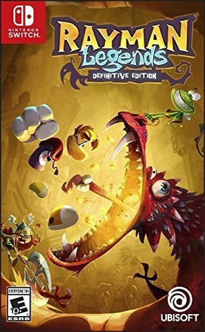 NSwitch Rayman Legends Definitive Edition (US Version)