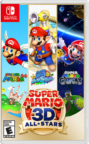 NSwitch Super Mario 3D All Stars (Asian/MDE Version) - Kyo's Game Mart