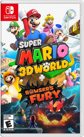 [Preorder] NS Super Mario 3D World + Bowser's Fury (Asian/MDE Version) - Kyo's Game Mart