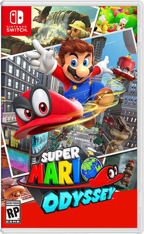 NSwitch Super Mario Odyssey (US/Asian Version)