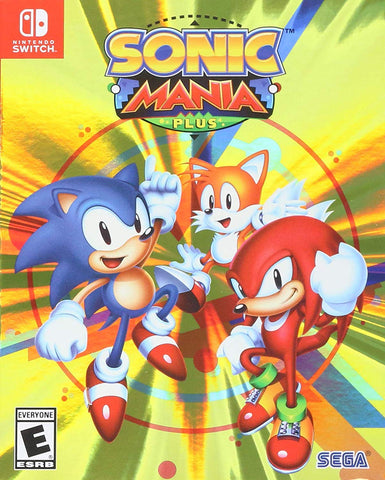 NSwitch Sonic Mania Plus (Asian Version) - Kyo's Game Mart