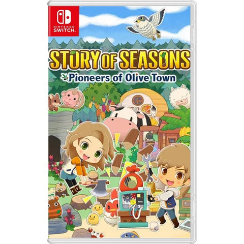 [Preorder] NS Story of Seasons: Pioneers of Olive Town (Asian/MDE Version) - Kyo's Game Mart