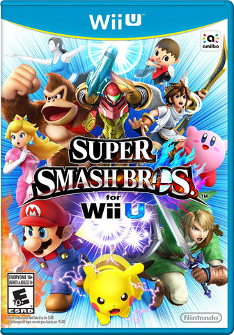 WiiU Super Smash Bros. for WiiU (US Version) - Kyo's Game Mart