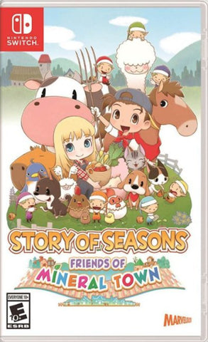 NSwitch Story of Seasons: Friends of Mineral Town (US Version) - Kyo's Game Mart