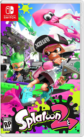 NSwitch Splatoon 2 (US/Asian Version)