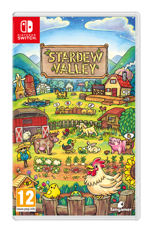[Preorder] NSwitch Stardew Valley (PAL Version) - Kyo's Game Mart