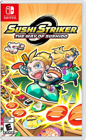 NSwitch Sushi Striker The Way of Sushido (Asian Version) - Kyo's Game Mart