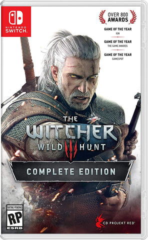 NSwitch The Witcher 3 Complete Edition (US/Asian Version)
