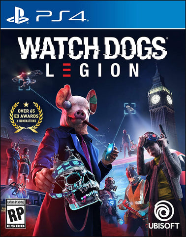 PS4 Watch Dogs Legion (R3 Version) - Kyo's Game Mart