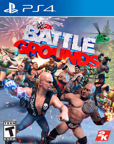 [Preorder] PS4 WWE 2K Battlegrounds (R3 Version) - Kyo's Game Mart