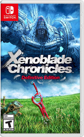 NSwitch Xenoblade Chronicles Definitive Edition (ASI/MDE Version) - Kyo's Game Mart