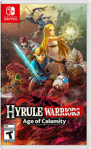NSwitch Hyrule Warriors: Age of Calamity (Asian/MDE Version) - Kyo's Game Mart