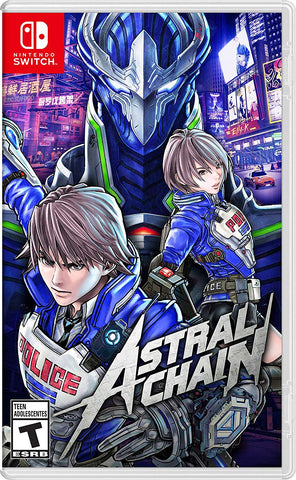 NSwitch Astral Chain (US/Asian Version)