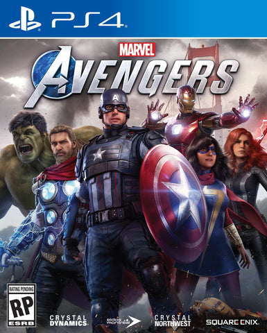 [Preorder] PS4 Marvel's Avengers (R3 Version) - Kyo's Game Mart