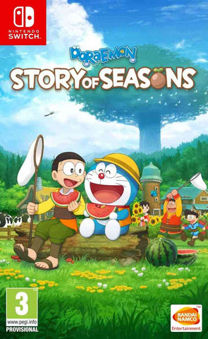 NSwitch Doraemon Story of Seasons (MDE Version) - Kyo's Game Mart