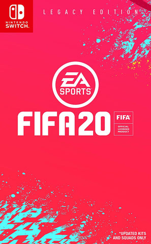 NSwitch FIFA 20 (US/Asian Version)