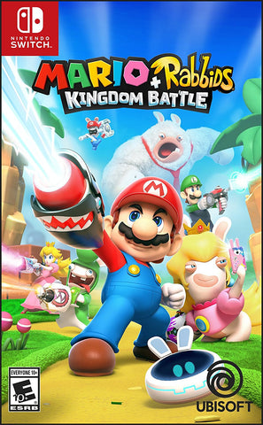 NSwitch Mario + Rabbids Kingdom Battle (US/Asian Version)