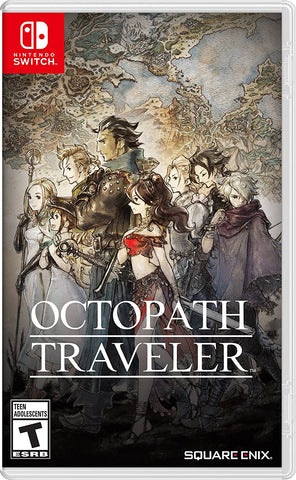 NSwitch Octopath Traveller (US/Asian) - Kyo's Game Mart