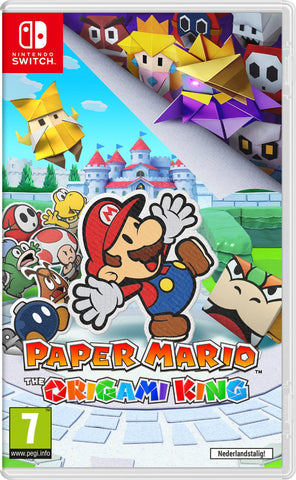 NSwitch Paper Mario: The Origami King (Asian/MDE Version) - Kyo's Game Mart