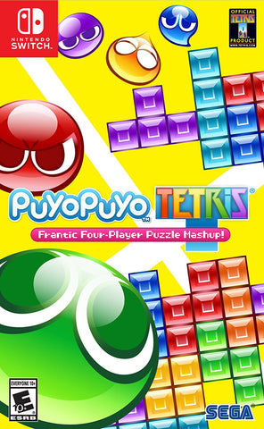 NSwitch Puyo Puyo Teris (US Version) - Kyo's Game Mart