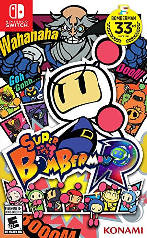 NSwitch Super Bomberman R (US Version) - Kyo's Game Mart