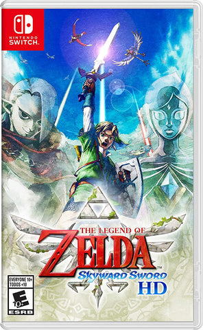 [Preorder] NS The Legend of Zelda: Skyward Sword HD (Asian/MDE Version) - Kyo's Game Mart