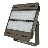 LED Flood Light - 100W - S Series - (UL+DLC) - 5 Year Warranty - Flood Mount - Brown - Green Light Depot