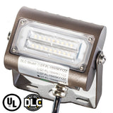 LED Flood Light - 15W - Outdoor LED Luminaire Yoke Mount - DLC Listed - 5 year warranty - 6000K - Greentek Energy Systems