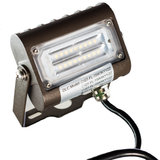 LED Flood Light - 15W - Outdoor LED Luminaire Yoke Mount - DLC Listed - 5 Year Warranty - 6000K - Green Light Depot