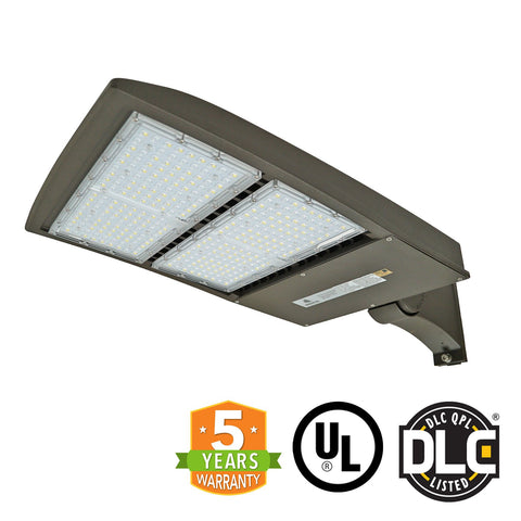 LED Street Light - 200W - Outdoor LED Direct Mount - DLC Listed - 5 Year Warranty - Green Light Depot