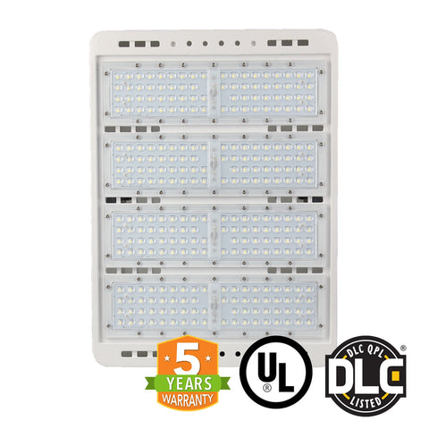 LED Flood Light - 300W - S Series - (UL+DLC) - 5 Year Warranty - Flood Mount - White - Green Light Depot