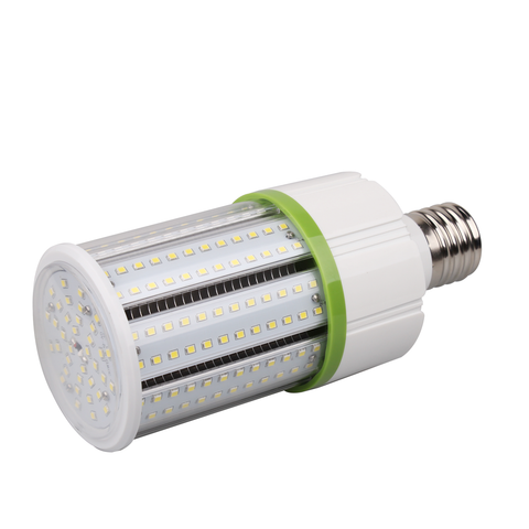 30W LED Corn Bulb - Mogul Base (E39) - (UL+DLC) - Green Light Depot