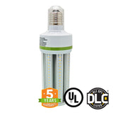 54W LED Corn Bulb - Bypass Ballast - Mogul Base (E39) - Fanless - 5700K - (UL+DLC) - Green Light Depot