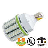 80W LED Corn Bulb - Bypass Ballast - Mogul Base (E39) - Fanless - 5700K - (UL+DLC) - Green Light Depot