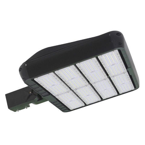 LED Street Light - 480W - Outdoor LED Luminaire Slip Fitter Mount - DLC Listed - 5 Year Warranty