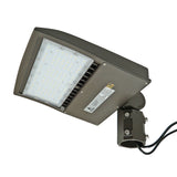 LED Street Light - 100W - Outdoor LED Slip Fitter Mount - DLC Listed - 5 Year Warranty - Green Light Depot