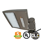 LED Street Light - 150W - Outdoor LED Slip Fitter Mount - DLC Listed - 5 Year Warranty - 5700K - Green Light Depot