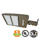 LED Street Light - 300W - High Voltage 480V - Surge Protector - Outdoor LED Slip Fitter Mount - 5 Year Warranty - Green Light Depot