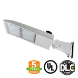 LED Street Light - 240W - Outdoor LED Direct Mount - White - 5 Year Warranty - With Shorting Cap - Green Light Depot