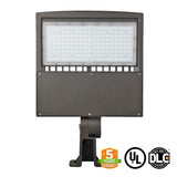 LED Street Light - 150W - LED Luminaire Yoke Mount - DLC Listed - 5 Year Warranty