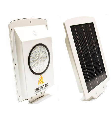 6W Solar LED Pathway And Street Light - Greentek Energy Systems