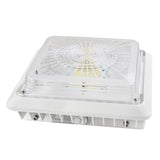 LED Canopy Light - 100W Outdoor Parking Garage Light - (UL+DLC Listed) - Green Light Depot