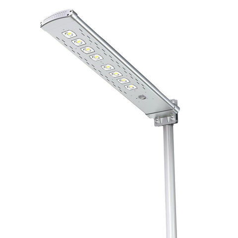 Solar LED Pathway And Street Light - 4500Lm - Remote Control