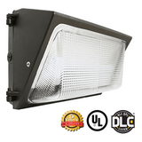 50W LED Wall Pack Light - Glass Lens - Forward Throw - DLC Listed - Green Light Depot