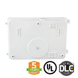 120W LED Wall Pack Light - Semi Cutoff - Forward Throw - White - DLC Listed - Green Light Depot