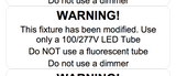 Warning Stickers - Bypass Installation - 30 Labels - Greentek Energy Systems