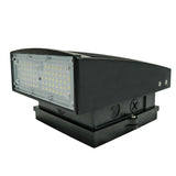35W LED Wall Pack Dark Sky - WP05 Series - PMMA Optical Lens - 5700K - (UL + DLC) - Green Light Depot