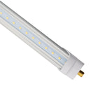 8ft 36W LED Linear Tube - Fa8 Socket - Bypass - (DLC) - Green Light Depot