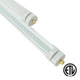 8ft 40W LED Linear Tube - Fa8 Socket - Bypass - (ETL) *Only Available in 6000K - Green Light Depot