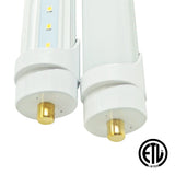 8ft 36W LED Linear Tube - Fa8 Socket - Bypass - (ETL) - Green Light Depot